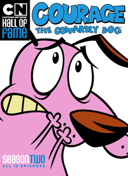 Cartoon Network Hall Of Fame Courage The Cowardly Dog Season Two
