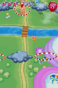 Strawberry Shortcake: The Four Seasons Cake is a side-scrolling platformer.  You play the entire game as Strawberry Shortcake herself, except for the  last ...